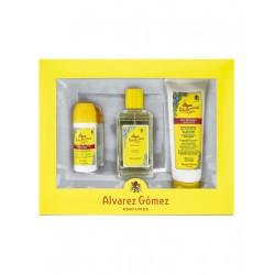 comprar perfumes online unisex ALVAREZ GOMEZ AGUA DE COLONIA CONCENTRADA 150 ML + DEO ROLL ON 75 ML + SHOWER GEL 230 ML SET R...