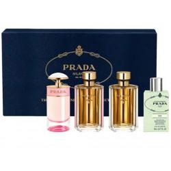 comprar perfumes online PRADA SET MINIATURAS FEMENINAS X 4 UDS mujer