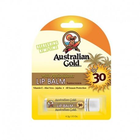 AUSTRALIAN GOLD LIP BALM BÁLSAMO LABIAL CON PROTECCIÓN SOLAR SPF 30