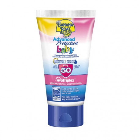 BANANA BOAT ADVANCED PROTECTION BABY LOCIÓN PROTECTORA SPF 50 60 ML