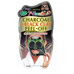 MONTAGNE JEUNESSE CHARCOAL+BLACK CLAY PEEL OFF MASCARILLA