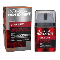 L'OREAL MEN EXPERT VITA LIFT 5 CREMA ANTI EDAD HIDRATANTE 50 ML