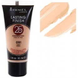 RIMMEL LASTING FINISH 25 H.FOUNDATION 091 LIGHT IVORY
