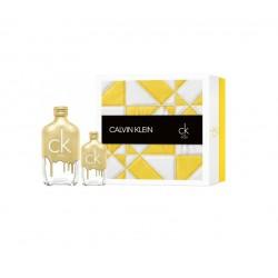 comprar perfumes online CALVIN KLEIN CK ONE GOLD EDT 200 ML + EDT 50 ML SET REGALO mujer