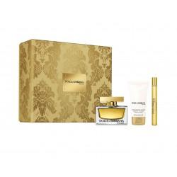 comprar perfumes online DOLCE & GABBANA THE ONE EDP 75 ML + MINI 10 ML + BODY LOTION 50 ML SET REGALO mujer