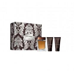 comprar perfumes online hombre DOLCE & GABBANA THE ONE MEN EDT 100ML + A/S 75 ML + GEL 50 ML SET REGALO