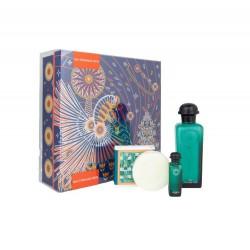 comprar perfumes online unisex HERMES EAU D´ORANGE VERTE EDC 100 ML + MINI 7.5 ML + JABÓN 50 GR SET REGALO