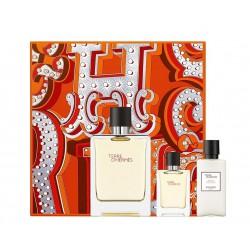 comprar perfumes online hombre HERMES TERRE D'HERMES EDT 100 ML + MINI 12.5 ML + A/SHAVE LOTION 40 ML SET REGALO