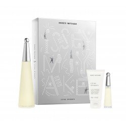 comprar perfumes online ISSEY MIYAKE L´EAU D´ISSEY EDT 100 ML + B/L 50 + MINI 10 ML ML SET REGALO mujer