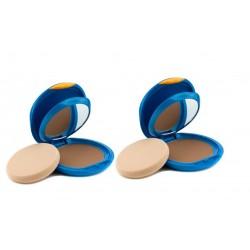 SHISEIDO UV PROTECTIVE SPF 30 COMPACT FOUNDATION COLOR SP60 MEDIUM BEIGE 2 X 12 G.
