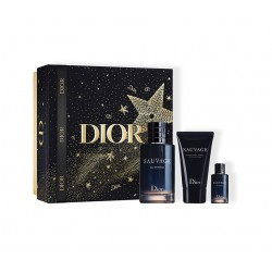 comprar perfumes online hombre CHRISTIAN DIOR SAUVAGE EDP 100 ML + MINI 10 ML + AFTER SHAVE 50 ML SET REGALO