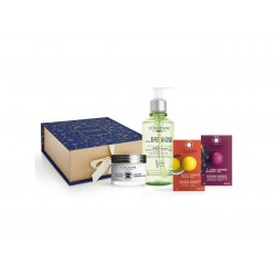 L'OCCITANE EN PROVENCE CREMA CONFORT ULTRA RICA 50 ML + AGUA MICELAR 200 ML + EXFOLIANTE 6 ML + MASCARILLA 6 ML SET REGALO