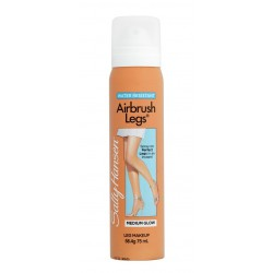 SALLY HANSEN AIRBRUSH LEGS SPRAY CON COLOR PARA PIERNAS MEDIUM GLOW 75 ML