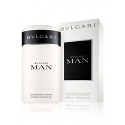 BVLGARI MAN SHAMPOO & SHOWER GEL 200 ML