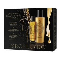 OROFLUIDO ELIXIR 50 ML + CHAMPU 200 ML + TURBANTE SET REGALO