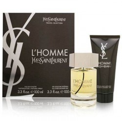 YSL L´HOMME EDT 100 ML + S/G 100 ML SET REGALO