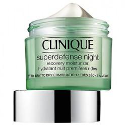 CLINIQUE SUPERDEFENSE NIGHT CREAM P/ SECAS-MUY SECAS 50 ML