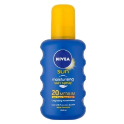 NIVEA SUN PROTECT & MOISTURE(PROTEGE & HIDRATA) SPF 20 SPRAY 200 ML