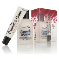 I LOVE...COCONUT (SHOWER GEL 100 ML+ GLOSS LABIAL 15 ML) SET REGALO