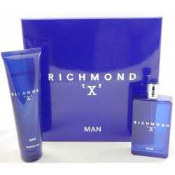 JOHN RICHMOND X MAN EDT 75 ML + S/G 150 ML SET REGALO