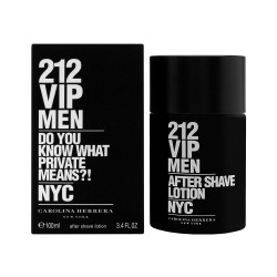 CAROLINA HERRERA 212 VIP MEN AFTER SHAVE LOTION 100 ML