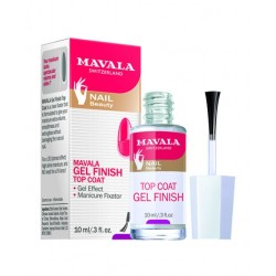 MAVALA GEL TOP COAT ACABADO MANICURA BRILLO FIJACION 10 ML