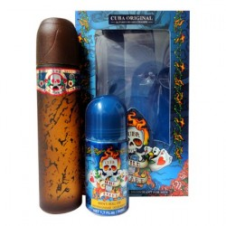 CUBA WILD HEART EDT 100 ML + DEO ROLL ON 50 ML SET REGALO