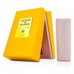 ACQUA DI PARMA ROSA NOBILE RECARGABLE EDP 20 ML EDICION CUERO