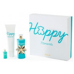 TOUS HAPPY MOMENTS EDT VAPO. 90 ML+ BODY LOTION 150 ML+ MINIATURA. SET