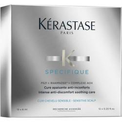 KERASTASE SPECIFIQUE CURE ANTI-PELLICULAIRE 12X 6 ML CURE APAISANTE INTENSE