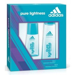 ADIDAS WOMAN PURE LIGHTNESS EDT 30 ML + EDT 75 ML SET REGALO
