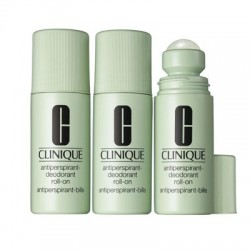 CLINIQUE ANTI PERSPIRANT ROLL ON 75 ML X 3 UNIDADES