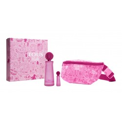 TOUS KIDS GIRL EDT 100 ML + MINIATURA 4 ML + RIÑONERA TOUS SET REGALO