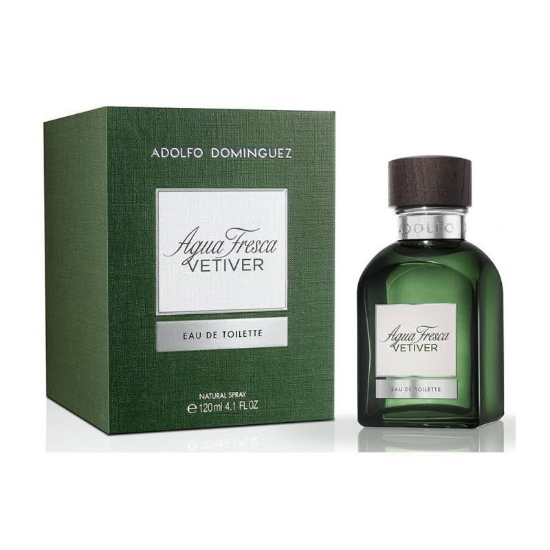adolfo dominguez agua fresca vetiver edt 120 ml vp