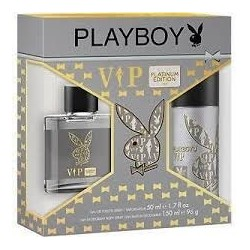 PLAYBOY PLATINUM 50 ML+ DEO VAPO 150 ML