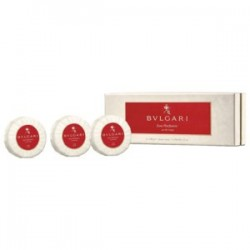 BVLGARI EAU PARFUMÉE AU THE ROUGE JABONES 3 X 150 GR. SET REGALO