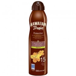 HAWAIIAN TROPIC BRUMA ACEITE SECO FPS15 180 ML danaperfumerias.com/es/