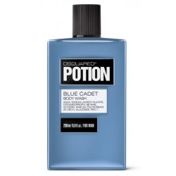 DSQUARED POTION BLUE CADET SHOWER GEL 200 ML