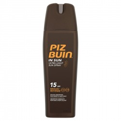 PIZ BUIN IN SUN ULTRA LIGHT SPRAY SPF 15 200 ML