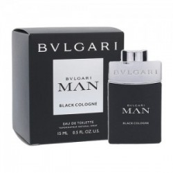 BVLGARI MAN IN BLACK COLOGNE EDC 15 ML