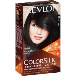 REVLON TINTE COLORSILK 11 SOFT BLACK