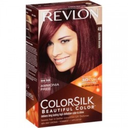 REVLON TINTE COLORSILK 49 AUBURN BROWN