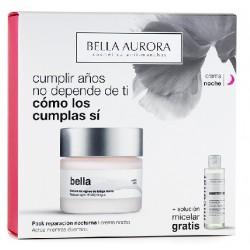 BELLA AURORA BELLA TRATAMIENTO DE NOCHE ANTIEDAD 50 ML + SOLUCION MICELAR 250 ML SET