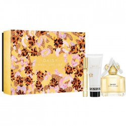 MARC JACOBS DAISY EDT 100 ML + BODY LOCION 100 ML + MINI  4 ML SET REGALO