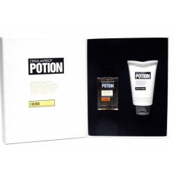 DSQUARED2 POTION FOR MEN SET EDT 50ML HAIR & BODY WASH 100ML