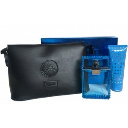 VERSACE MAN EAU FRAICHE EDT 100 ML + SHOWER GEL 100 ML + NECESER SET