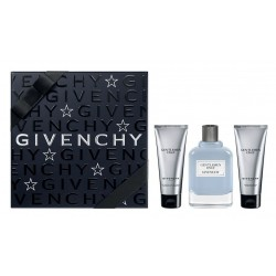 GIVENCHY GENTLEMEN ONLY EDT 100 ML + AFTER SHAVE 75 ML + GEL 75 ML SET REGALO