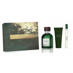 ADOLFO DOMINGUEZ VETIVER EDT 120ML + AFTER SHAVE 75ML + EDT 20ML SET