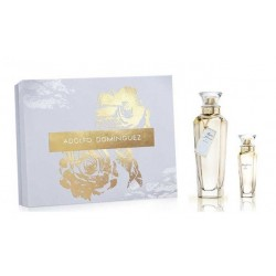 ADOLFO DOMINGUEZ AGUA FRESCA DE ROSAS EDT 120ML + EDT 30ML  SET