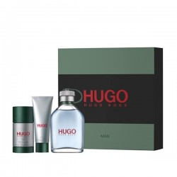 HUGO BOSS HUGO EDT 125ML + GEL 50ML + DEO STICK 75 ML SET REGALO